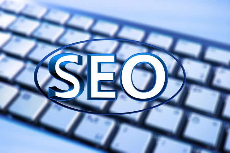 SEO with Keyboard - Image provided by Gerd Altmann via Pixabay - CC0 Creative Commons